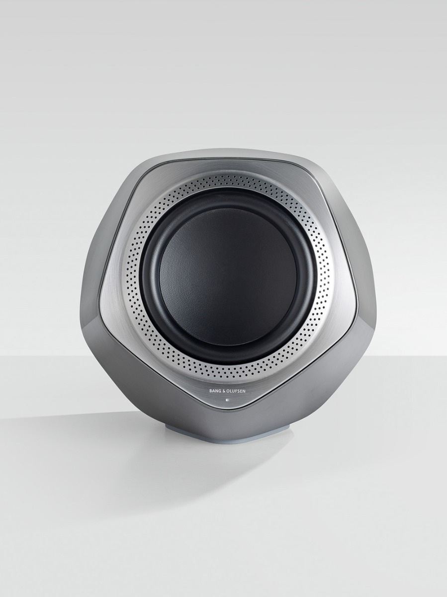 Beolab 19 is a wireless subwoofer with WISA wireless connectivity.