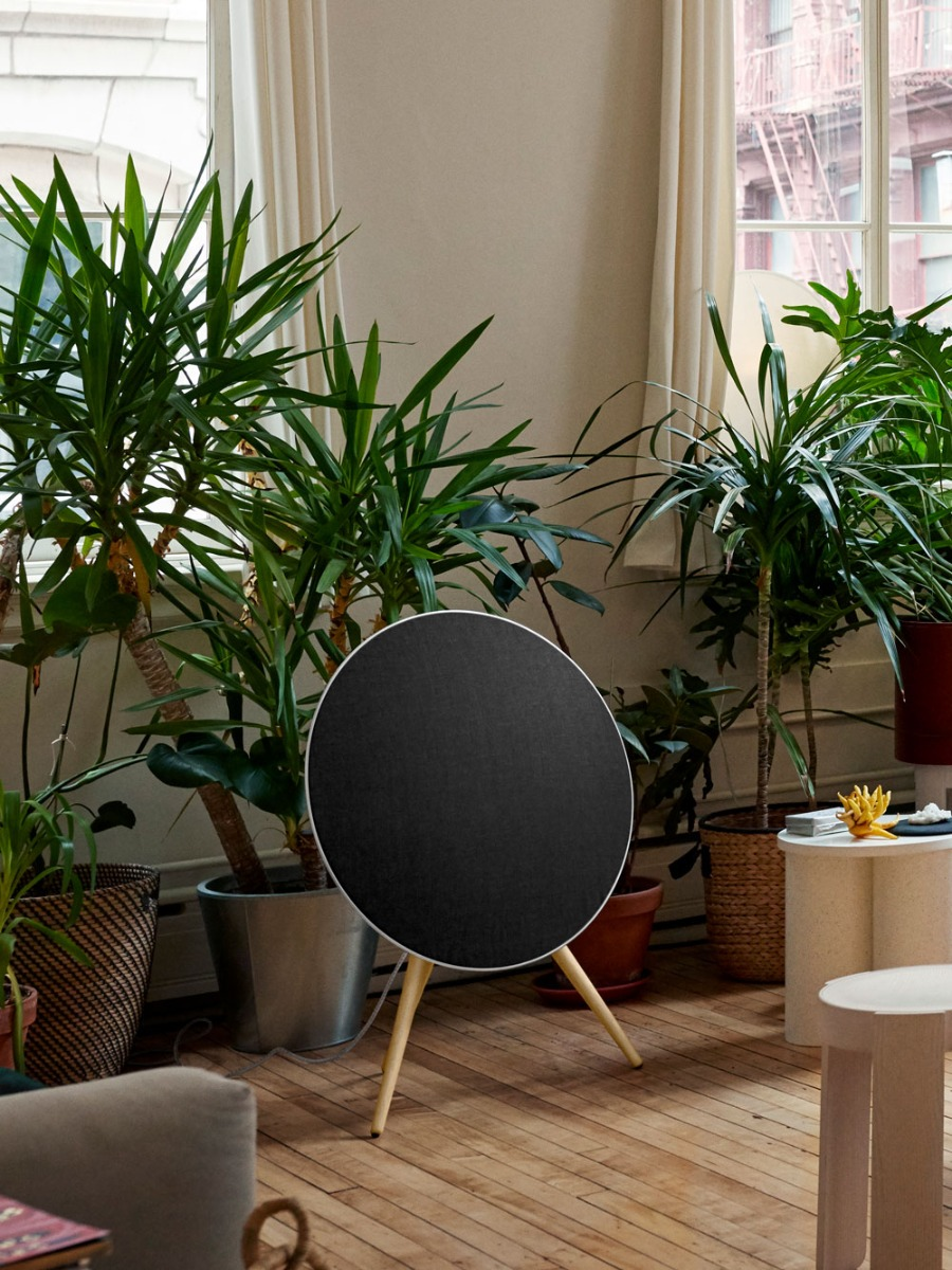 The Beoplay A9 from bang and olufsen is an all in one powerful wireless audio system.