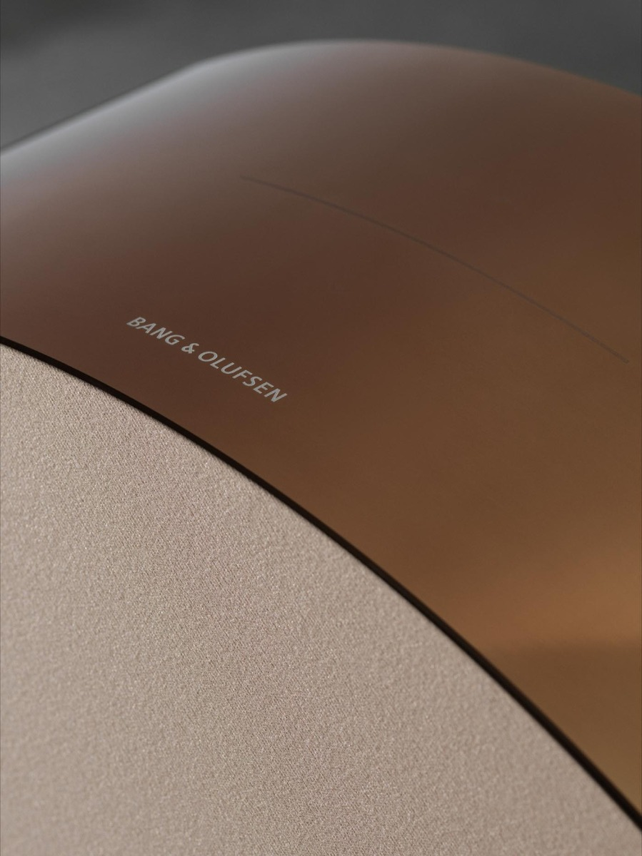 Bronze finish for the BeoSound Edge by Bang & Olufsen.
