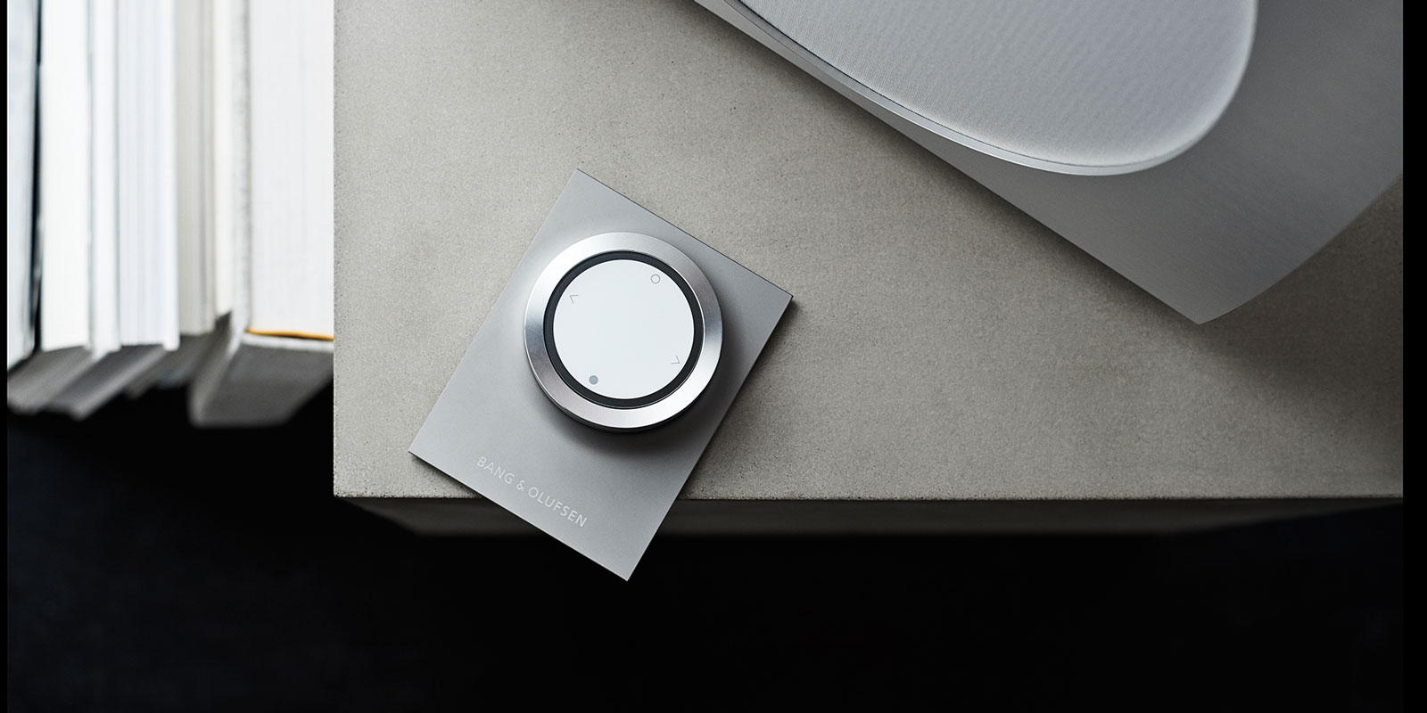 Beosound remote is a stunning aluminium and simple to use remote control for your music.