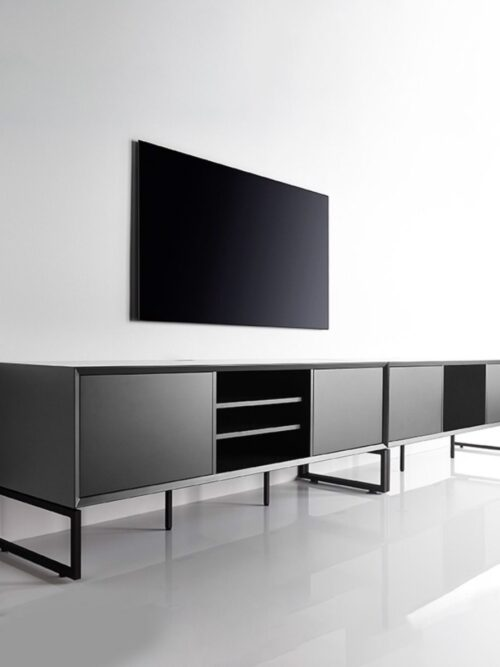 Clic 231 is a great piece of furniture to store things under your TV.