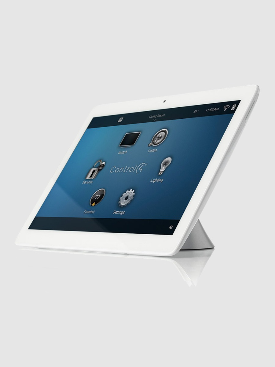 Control4 T3 is a beautiful touch screen panel letting you control your smart home