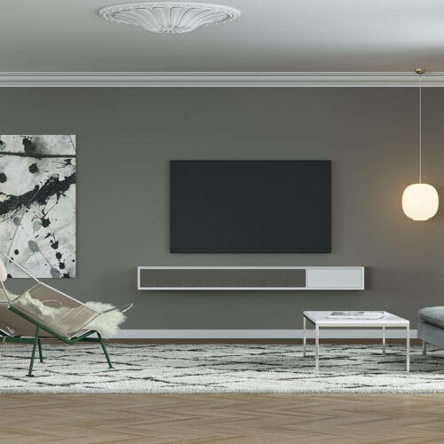Stunning minimalist furniture for the perfect home.
