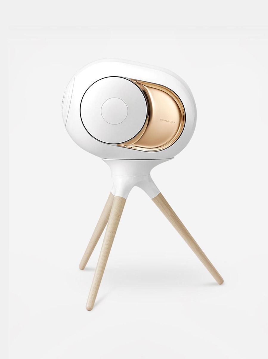 Devialet Treepod is an additional stand for the Phantom speakers.