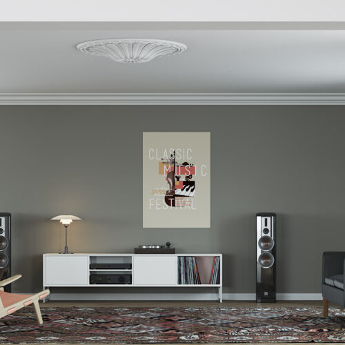 A top end cabinet for hi fi equipment that is more customisable than anything else on the market.
