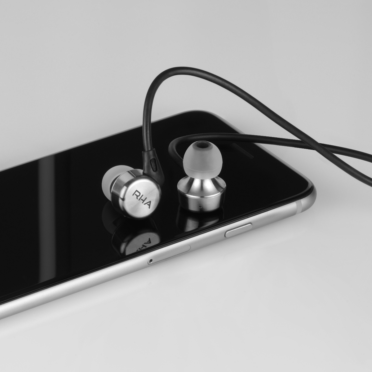 noise isolating premium earphones by RHA of Glasgow