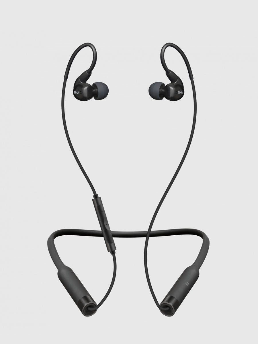 The new wireless headphones from RHA, the scottish headphone company.