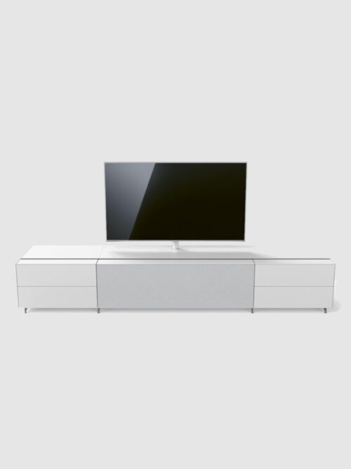 Cocoon by Spectral, furniture made to hold your Tv and audio solutions