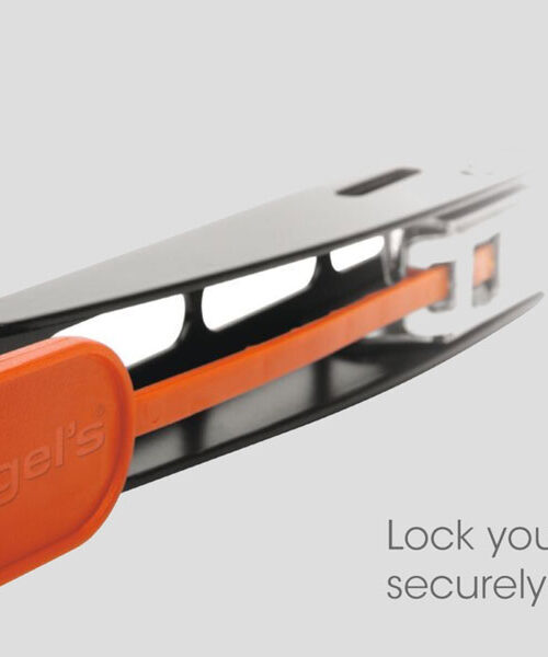 A locking mechanism to lock your tv at the angle that you want it at.